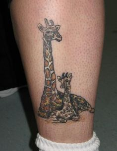 I made an album on the Giraffe lovers page titled Tattoos.. and heres one of them.