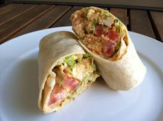 A Taste of Home Cooking: Buffalo Chicken Wraps