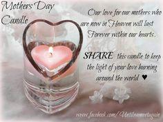 Happy Mother's Day to my dear Mom in Heaven... miss & love u always ♥ XO
