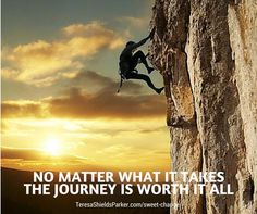 Lean in, trust God and keep going. #keepgoing #journey #worthit