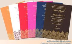 Choosing the best wedding invitation matters to every couple. It depends on the chosen theme of the bride and groom. The couple can choose various designs. Wedding Invitation Matter, Colorful Wedding Invitations, Wedding Invitation Images, Personalised Wedding Invitations, Vintage Invitations, Wedding Stationary, Custom Invitations, Personalized Wedding, Invitation Cards