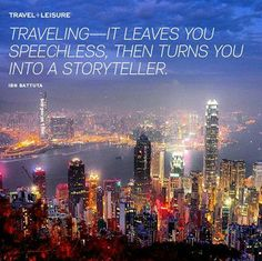 What kinds of travel memories will you make on your next trip? Photo of Hong Kong courtesy of willrong on Instagram    #travelquotes