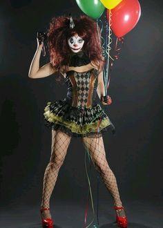 Cute, sexy, crazy clown