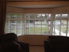Venetian, Blinds, Classy, Bays, Curtains, Home Decor, Wood Blinds, Decoration Home, Chic