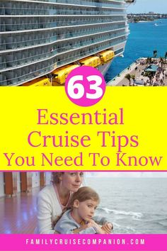 A list of first time cruise tips for families. If you're a first time cruiser with kids, you'll find helpful tips no matter where you are in your planning. Cruise Packing Tips, Cruise Travel, Packing Tips For Travel, Cruise Vacation, Travel Advice, Vacation Destinations, All Inclusive Cruises, Best Cruise Deals, Family Cruise