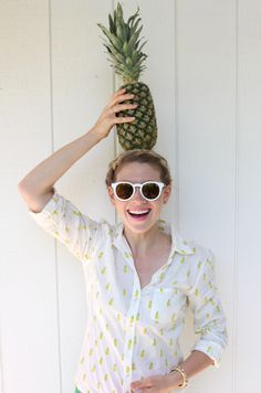 Pineapple Style- Take a Bite Out of Summer's Tastiest Trend