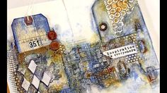 Find Out Fridays | Mixed Media Art Journal