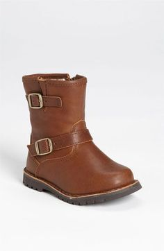 Free shipping and returns on UGG® 'Harwell' Boot (Walker & Toddler) at Nordstrom.com. Double buckles perfect the irresistible charm of a scaled-down classic with soft, fuzzy lining.