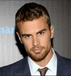 Theo James- boy do i love his brown eyes