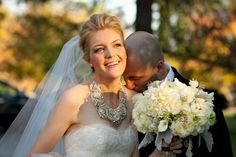 Bridal-Statement-Necklace ...would you rock a statement piece for your special day?