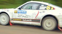 Video: Mit dem Porsche bei der Finnland Rallye