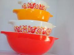 friendship pattern mixing bowls