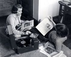 listening to records #vintage #vinyl #lp #record #album
