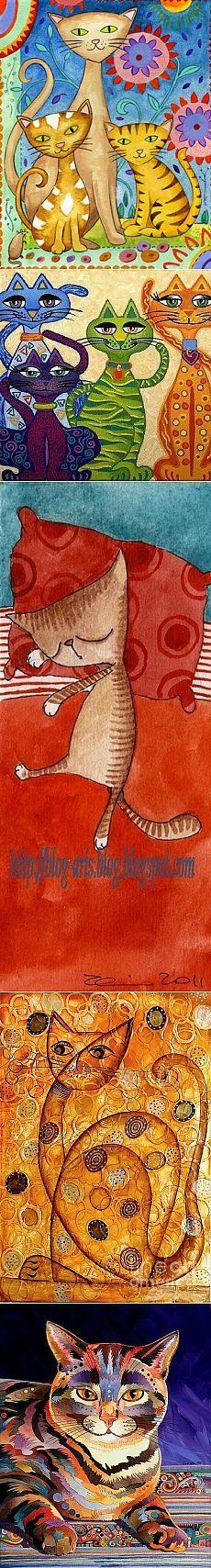 Кошки для батика