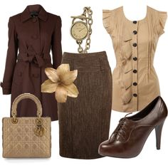 OMG... I love everything abut this (except the purse).  It would be a great fall teacher outfit  :D