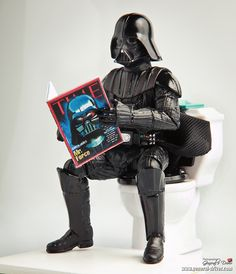 For the Star Wars Bathroom - hahahahaha!!!