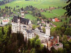 Neuschwanstein - Munique - Alemanha