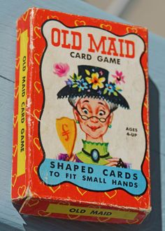 Who's Got the Old Maid Vintage Card Game. $18.00, via Etsy. Mine had this very…