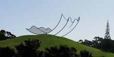 a ticket to New Zealand to see this amazing sculpture by Neil Dawson at Gibbs Farm, more images here Auckland, New Zealand Landscape, Farm Art, Thing 1, Outdoor Art, Sculpture Art, Steel Sculpture, Outdoor Sculpture, Wire Sculptures