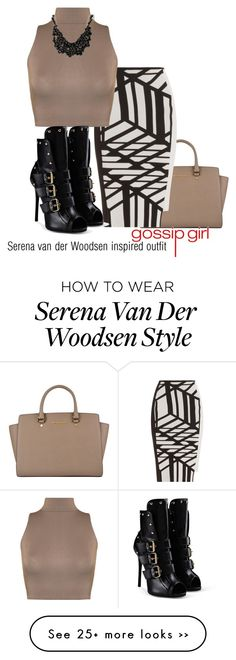 """""""Serena van der Woodsen inspired outfit/GG"""" by tvdsarahmichele on Polyvore Gossip Girl Outfits, Gossip Girl Fashion, Diva Fashion, Fashion Games, Cute Fashion, Star Fashion, Womens Fashion, I'm Chuck Bass, Serena Van Der Woodsen"""
