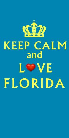 KEEP CALM AND LOVE FLORIDA! #florida #beach #floridabeaches #floridavacations #southfla #southflorida  http://www.waterfront-properties.com/palmbeachhighlandbeachrealestate.php
