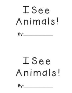 FREEBIE! Mini Reader for Sight Words: I, see, the