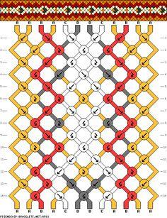 12 strings 14 rows 4 colors