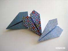 Aviones con Papel Decorativo