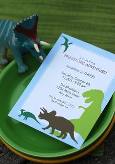 Dinosaur Dig Printable Birthday Party