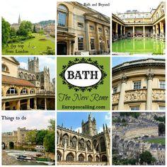 Bath-The New Rome www.europescalling.com