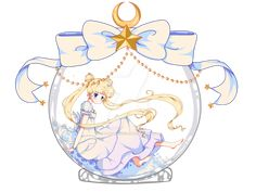 Serenity snowball by - World of Eternal Sailor Moon Sailor Moon Fan Art, Sailor Moon Usagi, Sailor Saturn, Sailor Moon Crystal, Sailor Venus, Sailor Scouts, Princesa Serena, Sailer Moon, Sailor Moon Aesthetic