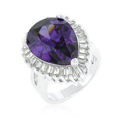 Purple Crest Ring