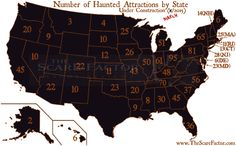 Haunted House Directory - The Scare Factor Halloween Attractions, Haunted Attractions, Best Haunted Houses, Go Usa, Different Holidays, Favorite Holiday, Happy Halloween, United States, Number
