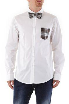 Camicia Uomo Absolut Joy (VI-C638) colore Bianco