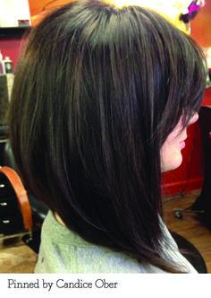 A-line bob pinned by Candice Ober. Recreate it here... http://myhairdressers.com/hairdressing-training/creative-hair-cutting/long-a-line-haircut.html