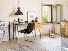 SLATER Bureau à commander tranquillement en ligne - micasa. Office Desk, Zurich, Table, Design, Organization, Furniture, Home Decor, Arredamento, Small Rooms