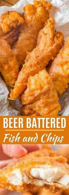 Beer Battered Fish made with fresh cod filets dipped in seasoned beer batter and fried until golden brown and crispy EASY to make and ready in only a few minutes fish fishandchips friedfoods fry cod crispy dinner cooking dinnerthendessert Tilapia Fish Recipes, Fried Fish Recipes, Easy Fish Recipes, Seafood Recipes, Cooking Recipes, Cooking Fish, Vegan Recipes With Fish, Recipe For Fried Cod Fish, Cooking Gadgets