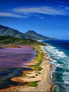 Margarita Island is the largest island in the Venezuelan state of Nueva Esparta, situated off the northeastern coast of the country, in the Caribbean Sea.
