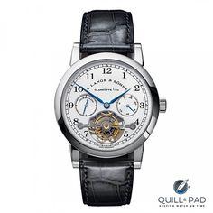 The Blue Merit: Grieb & Benzinger Makes An Ultra-Rare A. Lange & Söhne Tourbillon Pour Le Mérite Rarer Still | Quill & Pad Sporty Watch, Tourbillon, Pad, Watches For Men, Blue, Ferdinand, Accessories, Frankfurt, Luxury