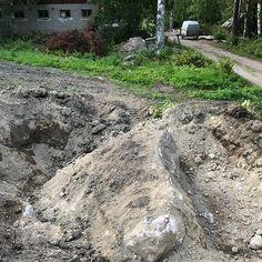 Pellosta löytyi muutama kivi... #pelto #peltokuntoon #wannabeefarmari Country Roads