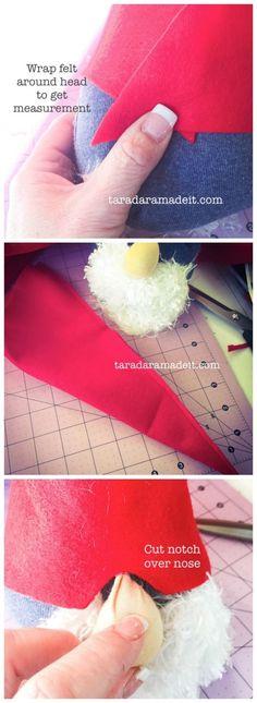 DIY Santa Gnome Tutorial - 1 Hour Craft perfect for a kid craft