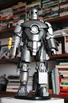 Make your own 3D printed Iron Man model