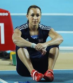 Jessica's Ennis did succeed; however, someone had some difficulty with the whole counting thing between nine and ten! Great effort and I am sure she will move forward to set an even better time with a full and correctly set track of 10 hurdles in the near future!