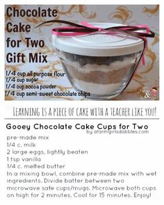 A cute idea for Valentine's Day, a teacher or office gift, or just a quick desert for tonight. www.pamperedchef.biz/adriansmith