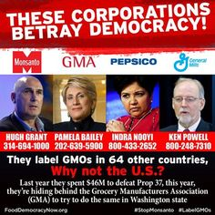 They label GMOs in 64 other countries, why not the U.S.? Take Action: http://fooddemocracynow.org/