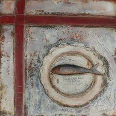 Irish Artist Anji ALLEN-Fish on a Dish