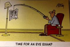 Time for an eye exam!