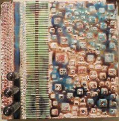 Spark Ribs Original Encaustic Artwork by kparsley on Etsy