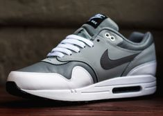 Nike Air Max 1 Leather - Cool Grey - Wolf Grey - SneakerNews.com
