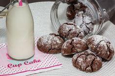 L'Accro au sucre a un blog: Mes craquelés au chocolat!